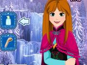 Frozen Anna Waterfall Braids