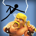 Spider Stickman Clash of Clans
